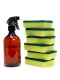 Environmental Cleaning Products Stock Photo