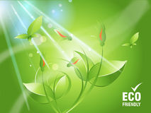 Environmental Concept. Environmental and Ecology concept  background Royalty Free Stock Photography