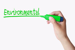 Environmental concept Stock Image