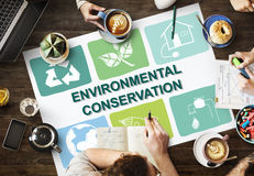 Environmental Conservation Life Preservation Protection Growth C. Environmental Conservation Life Preservation Protection Growth stock image