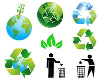 Environmental conservation sym Stock Image