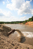Environmental contamination Stock Photo