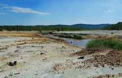 Environmental contamination Stock Images