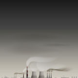 Environmental contamination vector background. EPS 10 file Royalty Free Stock Photo