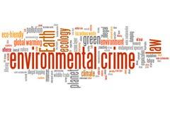 Environmental crime Royalty Free Stock Photo