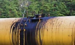 Environmental damage oil transportation Royalty Free Stock Photography