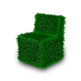 Environmental energy electric green grass light bu Royalty Free Stock Photo