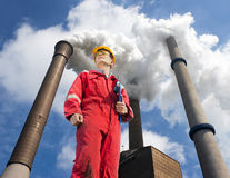 Environmental engineering Stock Image