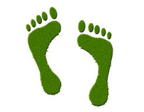 Environmental footprint Royalty Free Stock Photos