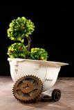 Environmental friendly industry concept Stock Photos