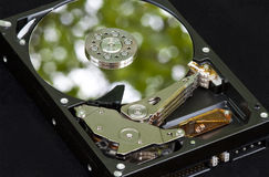 Environmental Green Hard Drive Stock Photography