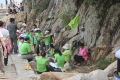 Environmental groups' Activities in SHENZHEN Royalty Free Stock Photography