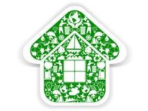 Environmental icon Royalty Free Stock Photography