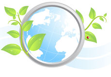 Environmental icon Royalty Free Stock Photography