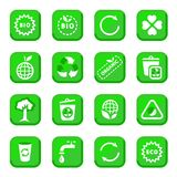 Environmental icon set Royalty Free Stock Photo