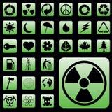 Environmental Icons. Vector collection of environmental icons Stock Photos