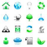 Environmental icons. Stock Photography