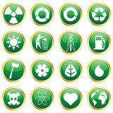 Environmental Icons Stock Photography