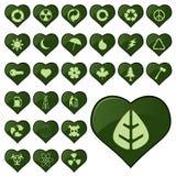 Environmental icons Stock Photo