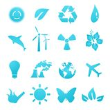 Environmental icons and design elements Stock Image