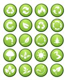Environmental icons and design elements Stock Photo