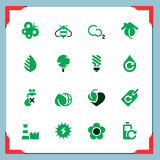 Environmental icons | In a frame series Royalty Free Stock Image
