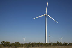 Environmental Industrial Wind Turbine Stock Photography