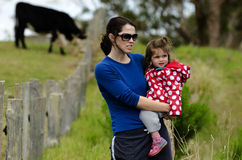 Environmental Issues Facing Dairy Farmers Stock Photo