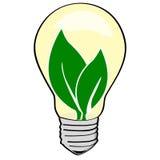 Environmental light bulb Royalty Free Stock Photo