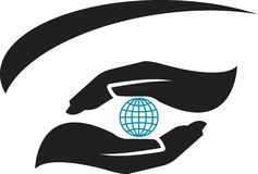 Environmental logo Stock Photo