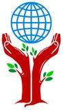 Environmental logo Royalty Free Stock Image
