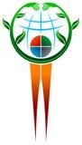 Environmental logo Royalty Free Stock Photos