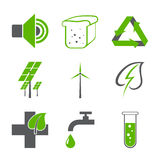 Environmental logos Stock Photography