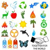 environmental logos Stock Images