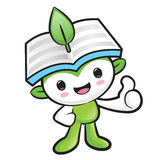 Environmental Mascot the hand best gesture. Nature Fairy Charact Stock Images