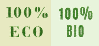 Environmental nature design Stock Images