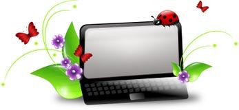 Environmental notebook Royalty Free Stock Image