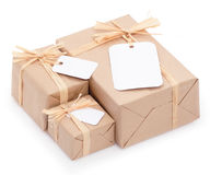 Environmental packaging Stock Photos