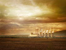 Environmental pollution Royalty Free Stock Photo