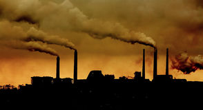 Environmental pollution Stock Photography