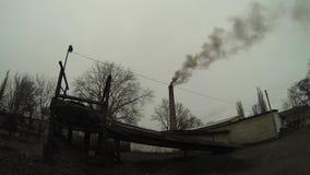 Environmental pollution stock footage