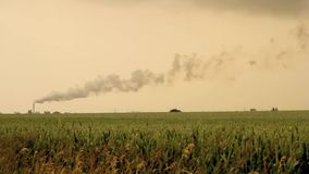 Environmental pollution stock footage