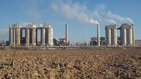 Environmental pollution stock video