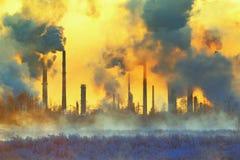 Environmental pollution Royalty Free Stock Photo