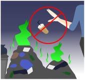Environmental Pollution vector royalty free illustration