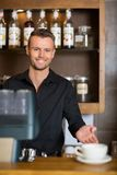 Environmental Portrait of Barista Royalty Free Stock Photo