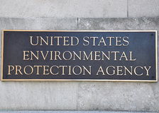 Environmental Protection Agency sign Stock Photo