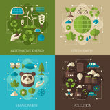 Environmental Protection, Ecology Concept Banners stock illustration
