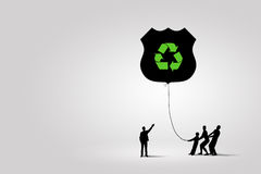 Environmental protection vector illustration