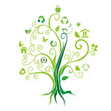 Environmental protection tree Stock Photography